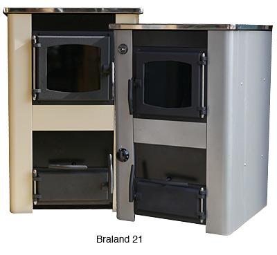 Braland 21 finns i en rad olika färger, samt i rostfritt.